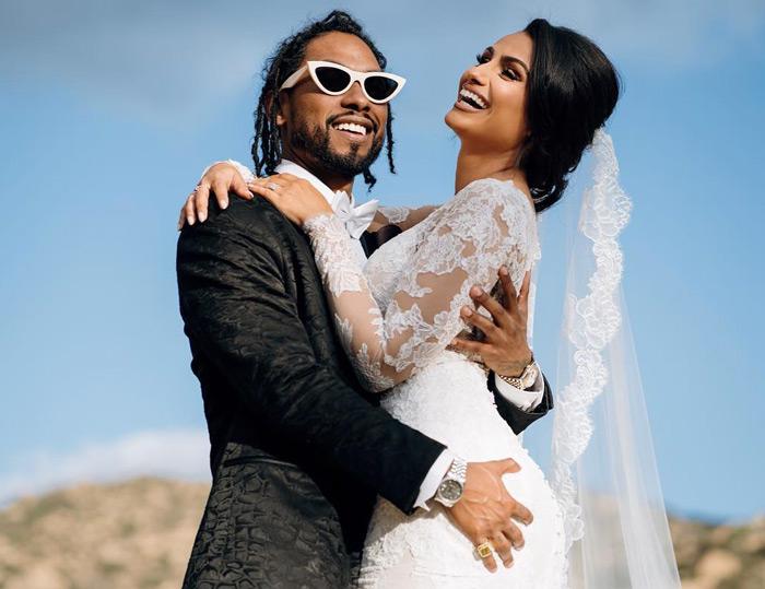 Miguel se casa con Nazanin Mandi tras 13 años como pareja