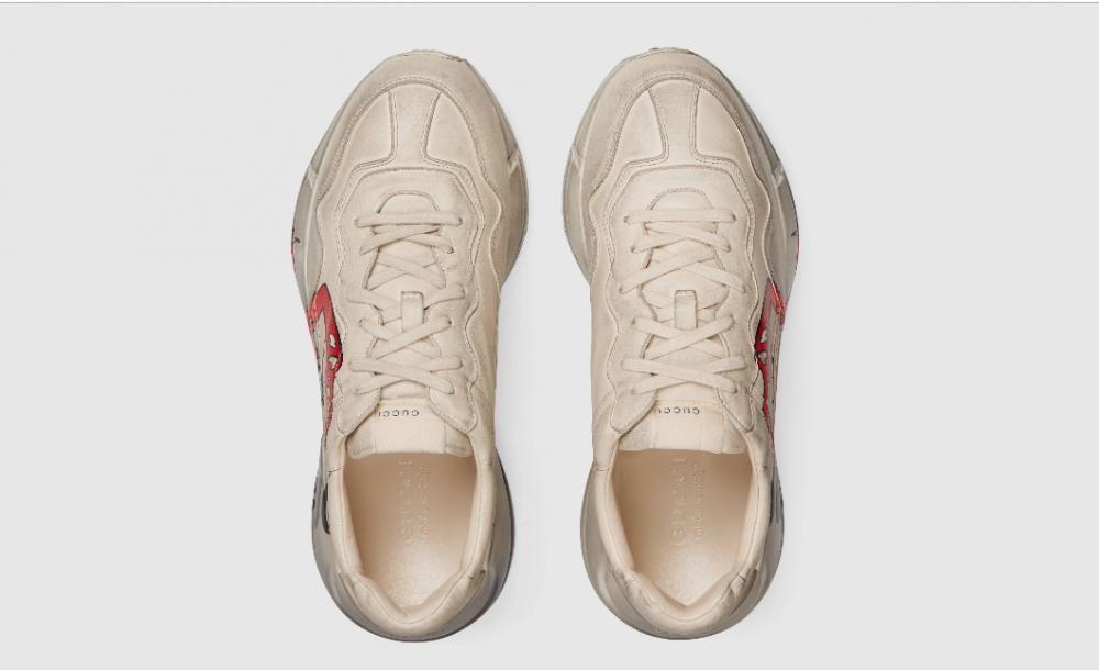Captura de pantalla 220 1000x610 - Ya están disponibles las nuevas Gucci Rhyton Sneakers