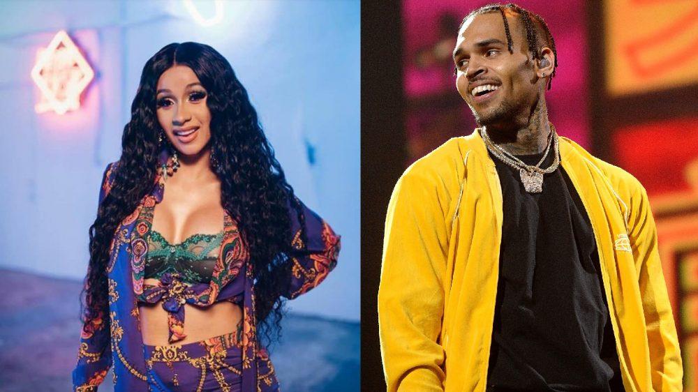 Chris Brown quiere ligar con Cardi B ahora que está soltera