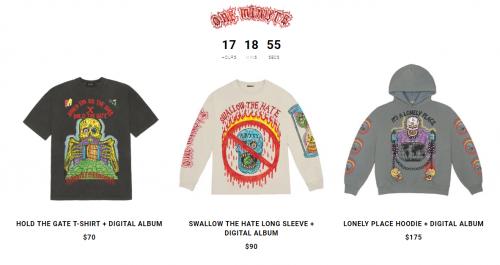 Últimas horas para comprar el merchandising YEEZY de XXXTentacion