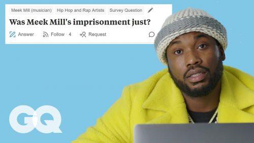 Meek Mill responde a las preguntas más incomodas para la revista GQ