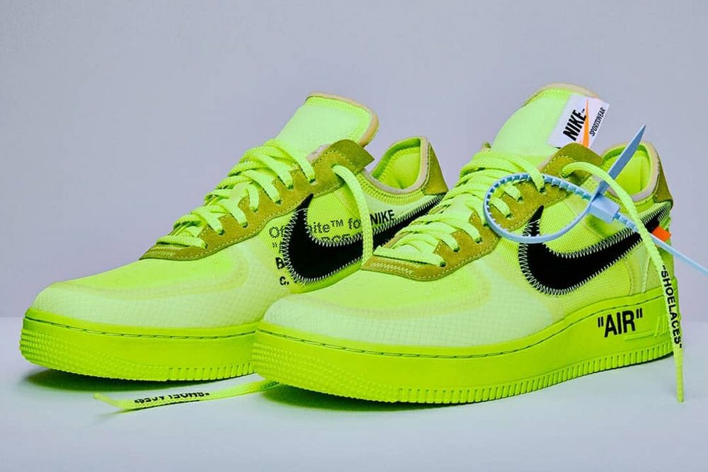 off white nike air force 1 2018 release date price 01 1000x667 - Ya tenemos fecha de salida para las OFF-WHITE x Air Force 1 'Volt'