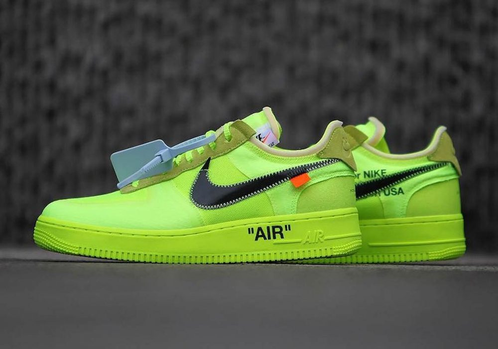 off white nike air force 1 low volt ao4606 700 6 1000x702 - Ya tenemos fecha de salida para las OFF-WHITE x Air Force 1 'Volt'