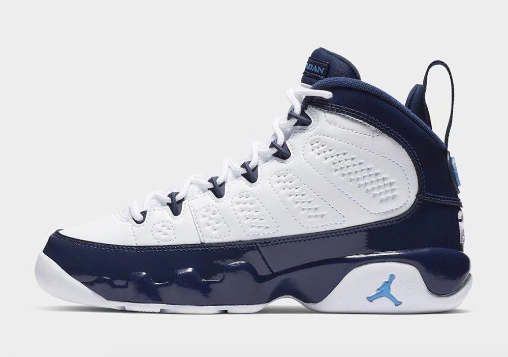 Las nuevas Air Jordan 9 'Pearl Blue' saldrán para el NBA All-Star