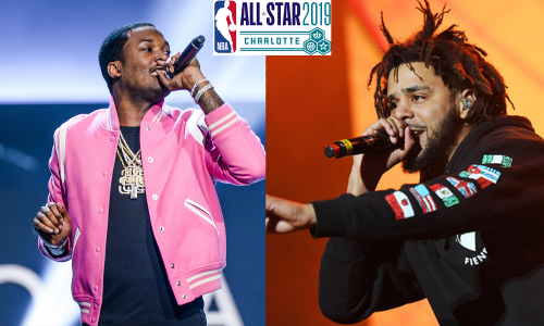 J. Cole y Meek Mill  actuarán durante el All-Star de la NBA
