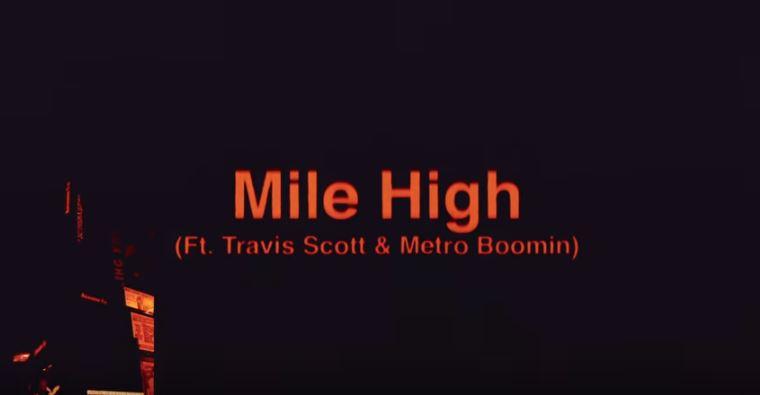 Travis Scott y James Blake unen fuerzas de nuevo en 'Mile High'