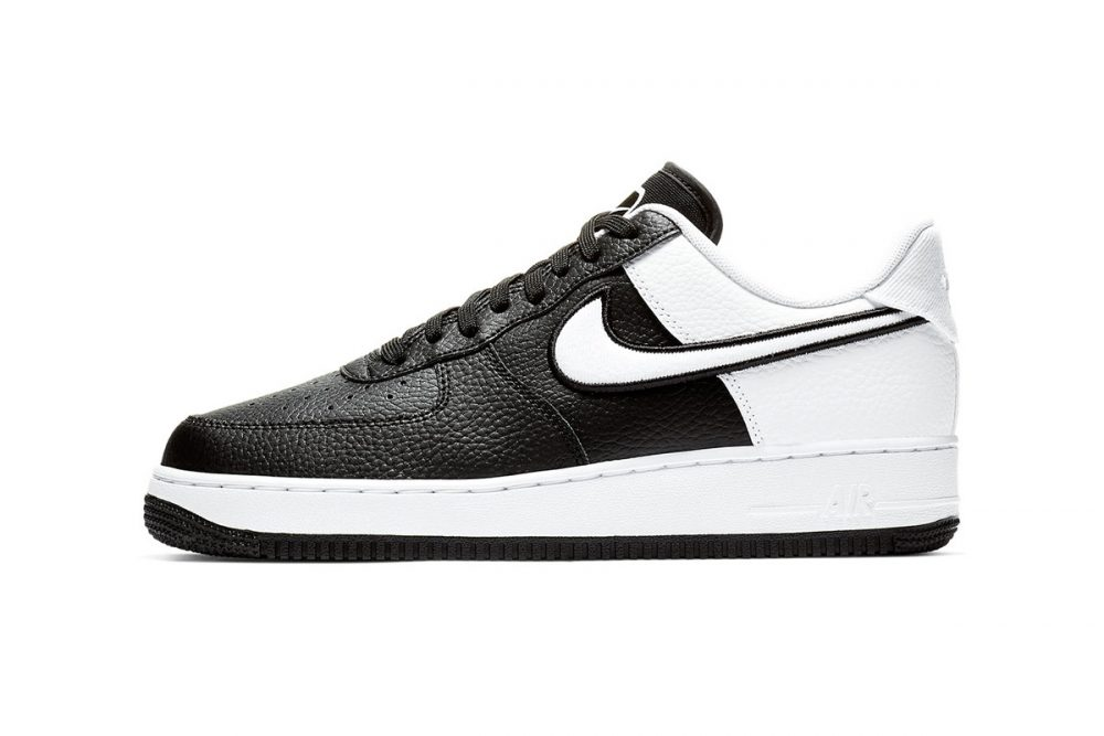 https   hypebeast.com image 2019 01 nike two toned air force 1 black white release 001 1000x667 - Nike le da un giro a las AF1 con tres modelos en dos tonos
