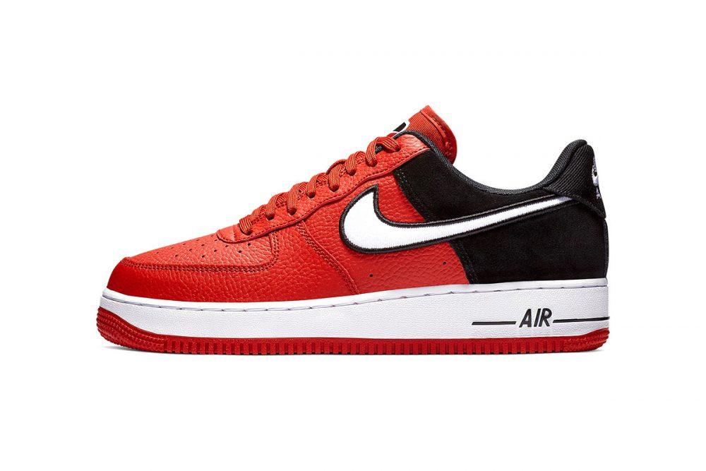 https   hypebeast.com image 2019 01 nike two toned air force 1 red black release 011 1000x667 - Nike le da un giro a las AF1 con tres modelos en dos tonos