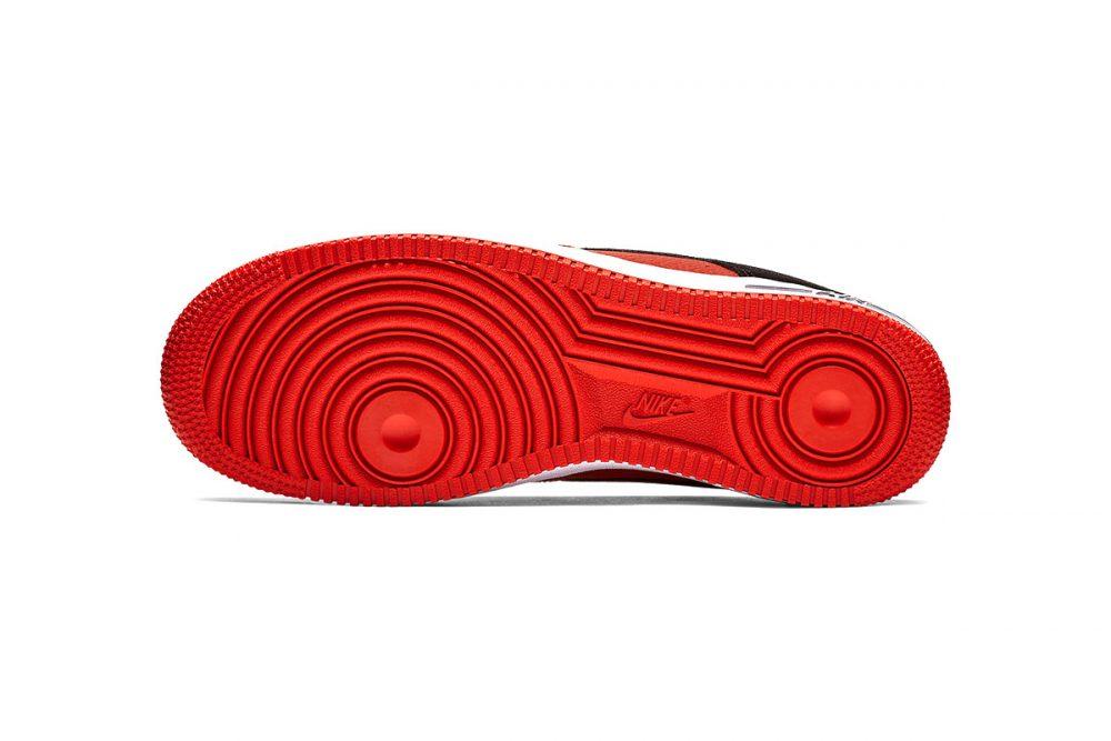 https   hypebeast.com image 2019 01 nike two toned air force 1 red black release 014 1000x667 - Nike le da un giro a las AF1 con tres modelos en dos tonos