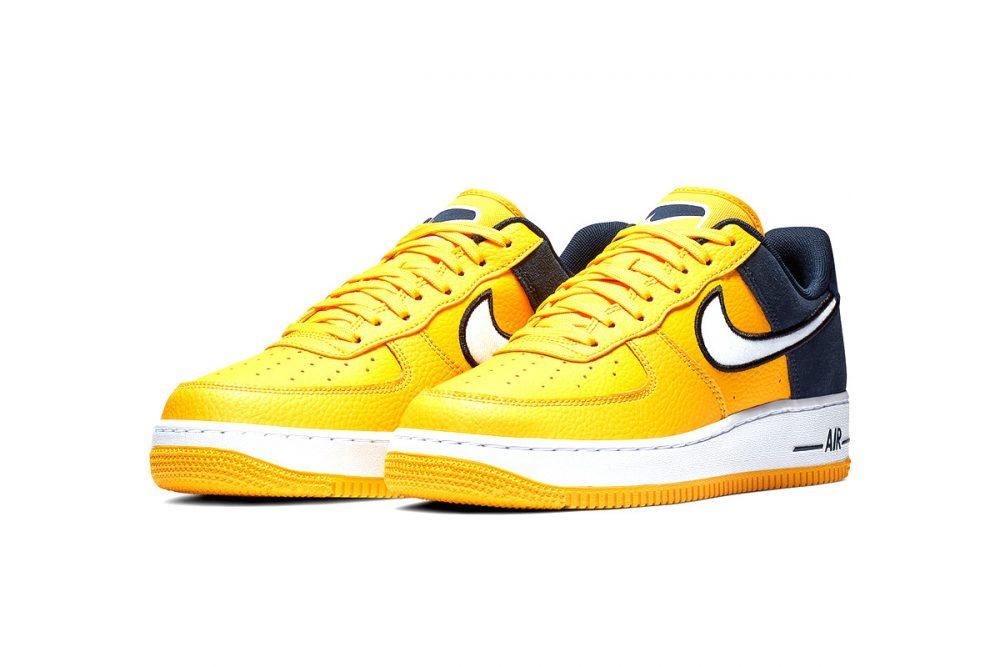 https   hypebeast.com image 2019 01 nike two toned air force 1 yellow navy release 007 1000x667 - Nike le da un giro a las AF1 con tres modelos en dos tonos