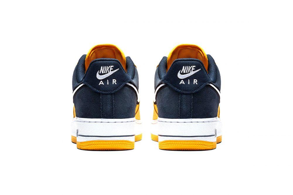 https   hypebeast.com image 2019 01 nike two toned air force 1 yellow navy release 008 1000x667 - Nike le da un giro a las AF1 con tres modelos en dos tonos
