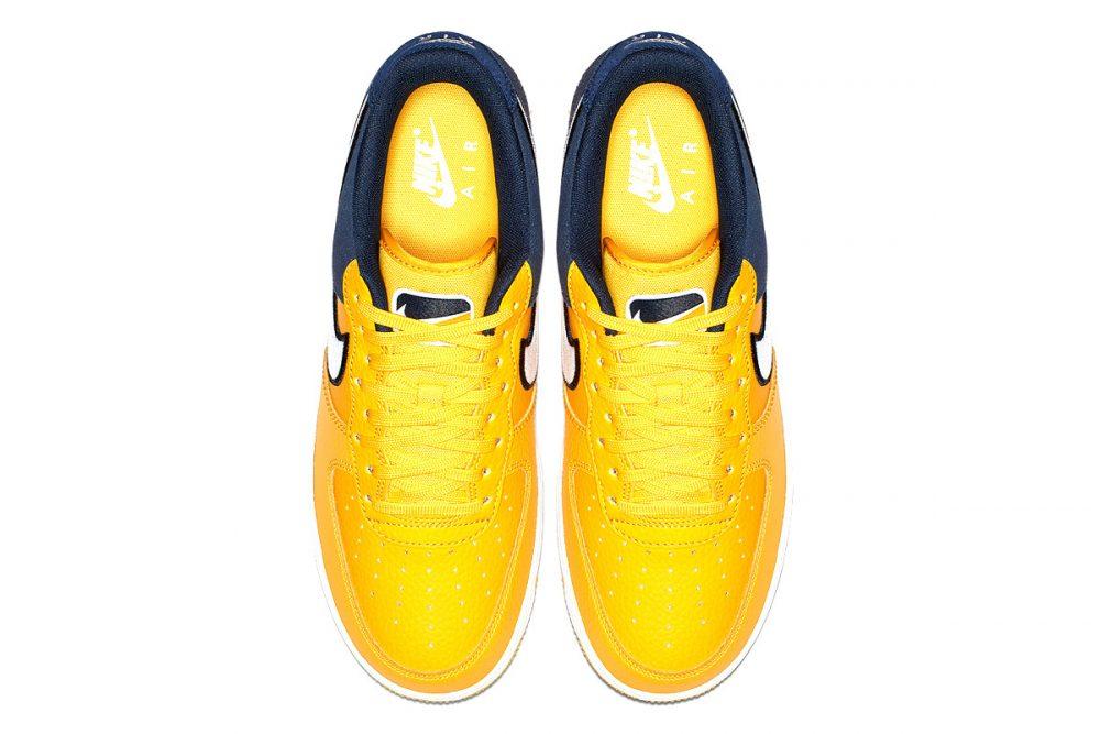 https   hypebeast.com image 2019 01 nike two toned air force 1 yellow navy release 009 1000x667 - Nike le da un giro a las AF1 con tres modelos en dos tonos