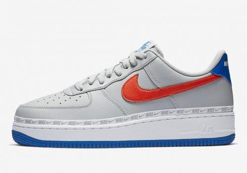 Descubre los detalles de las Nike Ribboned Air Force 1 Low de los Knicks