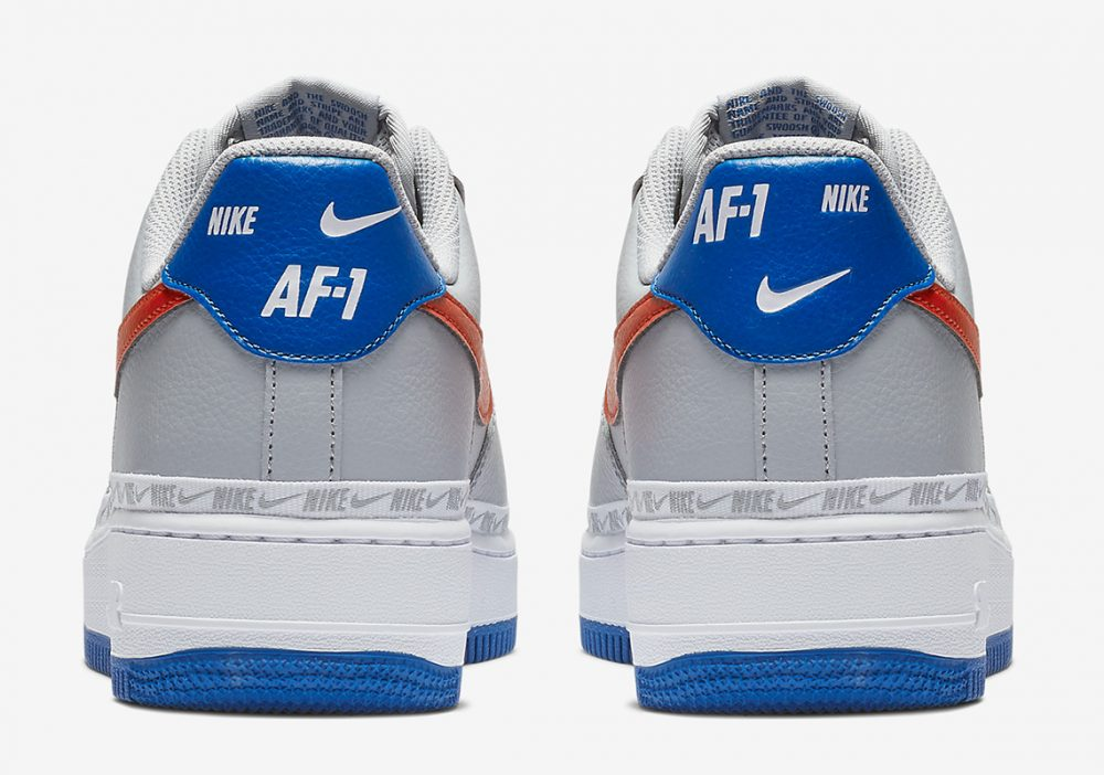 nike air force 1 CD7339 001 2 1000x702 - Descubre los detalles de las Nike Ribboned Air Force 1 Low de los Knicks