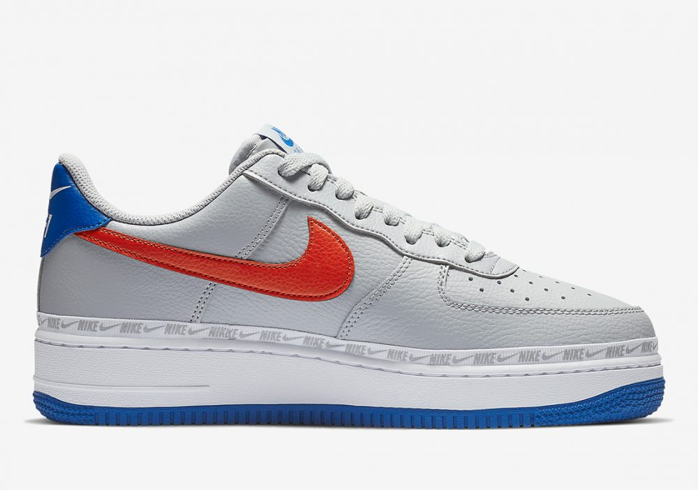 nike air force 1 CD7339 001 4 1000x702 - Descubre los detalles de las Nike Ribboned Air Force 1 Low de los Knicks