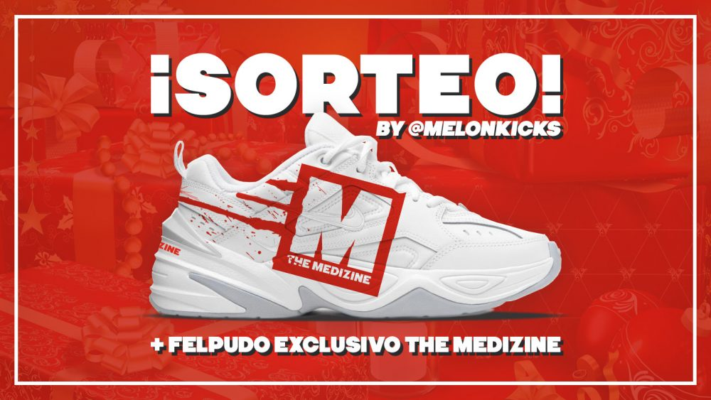 ¡Sorteamos unas Nike M2K Tekno The Medizine by @MelonKicks y un felpudo exclusivo!