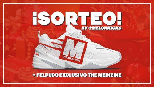 ¡Sorteamos unas Nike M2K Tekno The Medizine by @MelonKicks y un felpudo exclusivo!