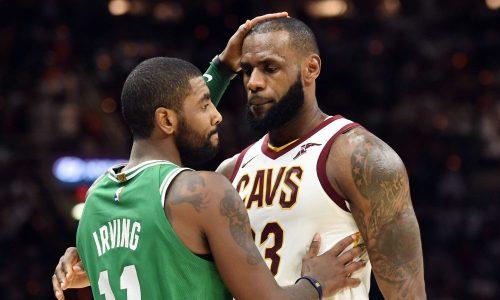 Kyrie Irving quiere jugar en los Lakers de LeBron James