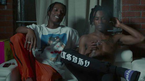 A$AP Rocky y Playboi Carti envueltos en una pelea después de un show