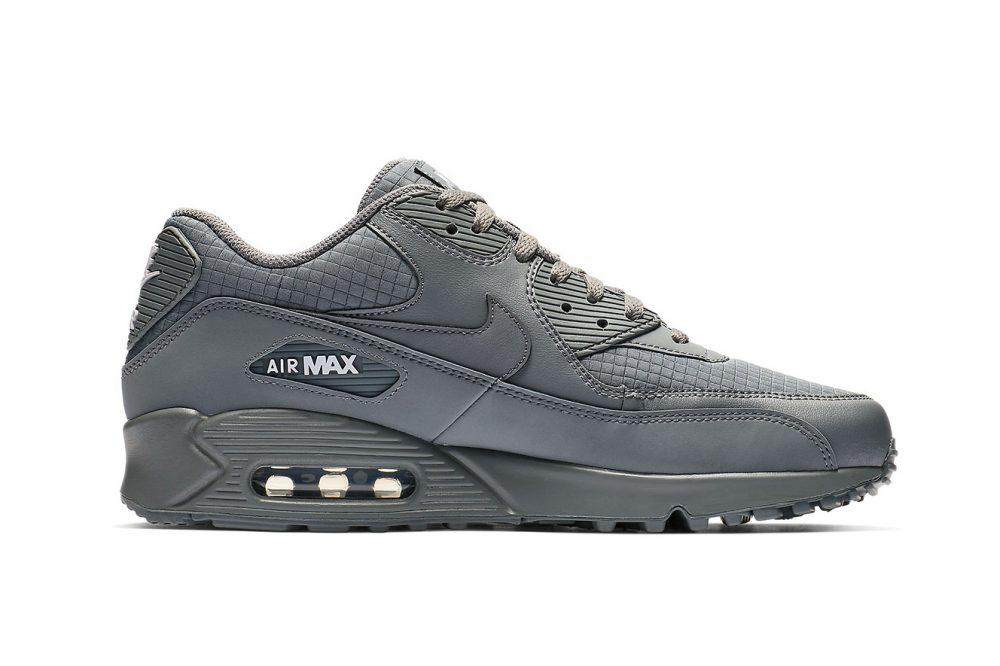 3 7 1000x666 - Las nuevas Nike Air Max 90 apuestan por el 'Cool Grey'
