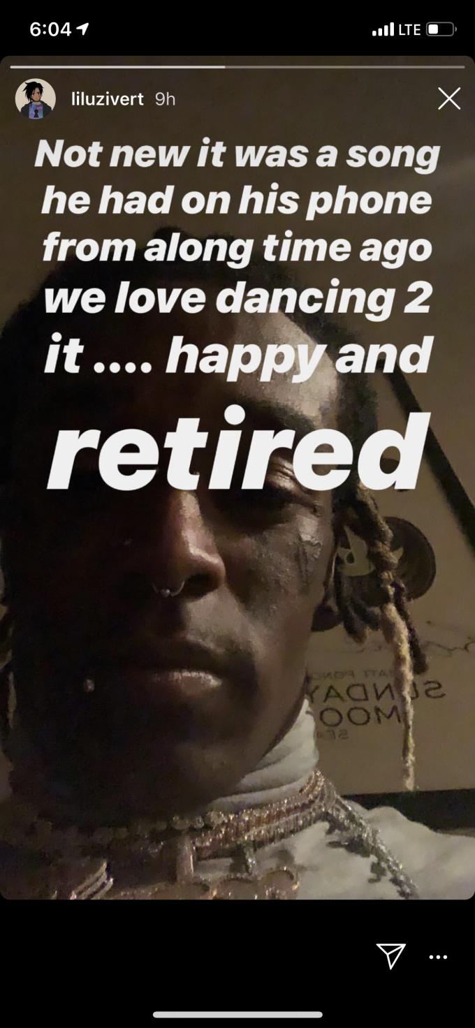 666 - Lil Uzi Vert recuerda a sus fans que sigue retirado y feliz