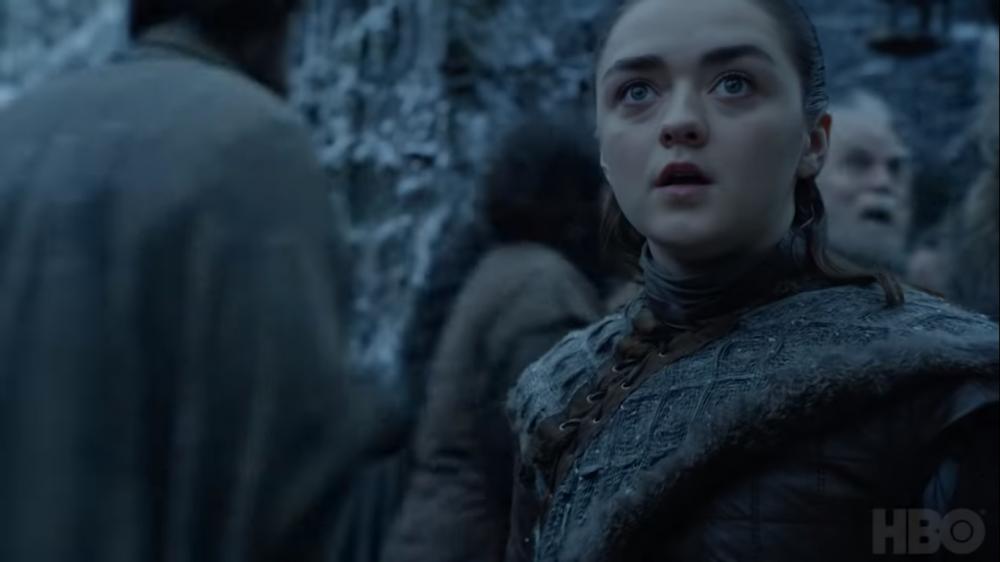 Arya Stark ve a un dragón de Daenerys en un nuevo vídeo de HBO