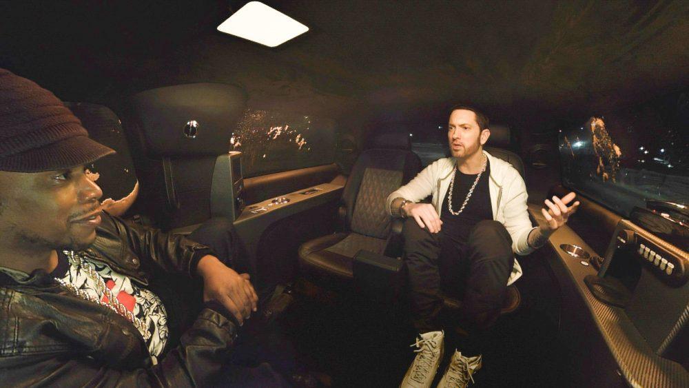La película de realidad virtual de Eminem ya está disponible