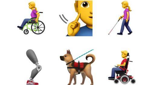 Los nuevos emojis de iOS apuestan por la inclusión social