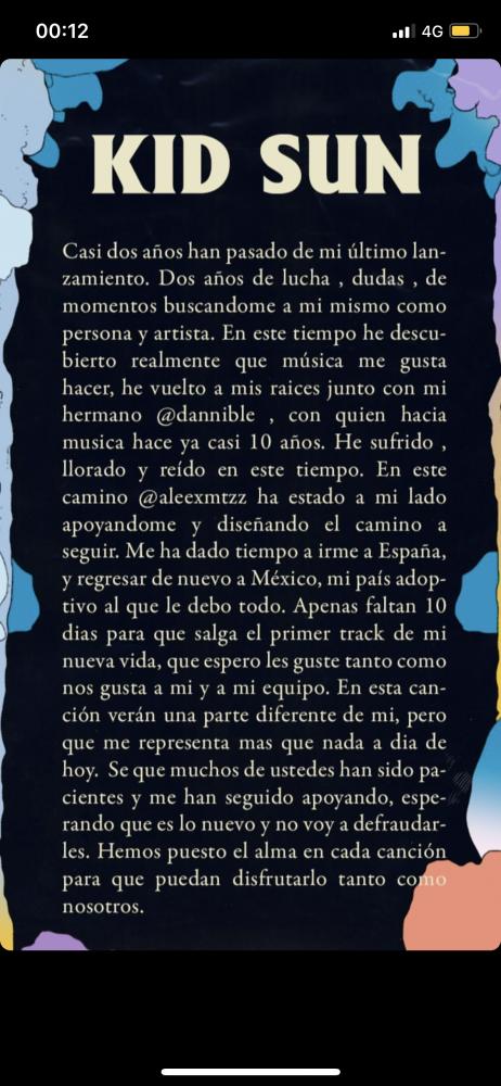 Image from iOS 1 462x1000 - Kid Sun anuncia 'El Modo', su vuelta a la música, para el 22 de marzo