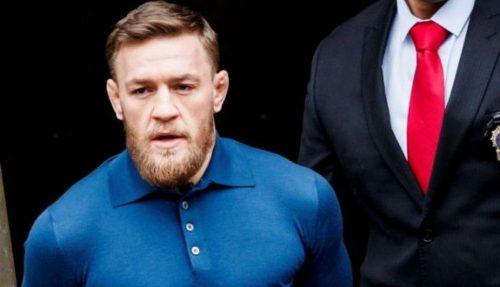 McGregor es arrestado por quitarle el móvil a un fan y destrozarlo