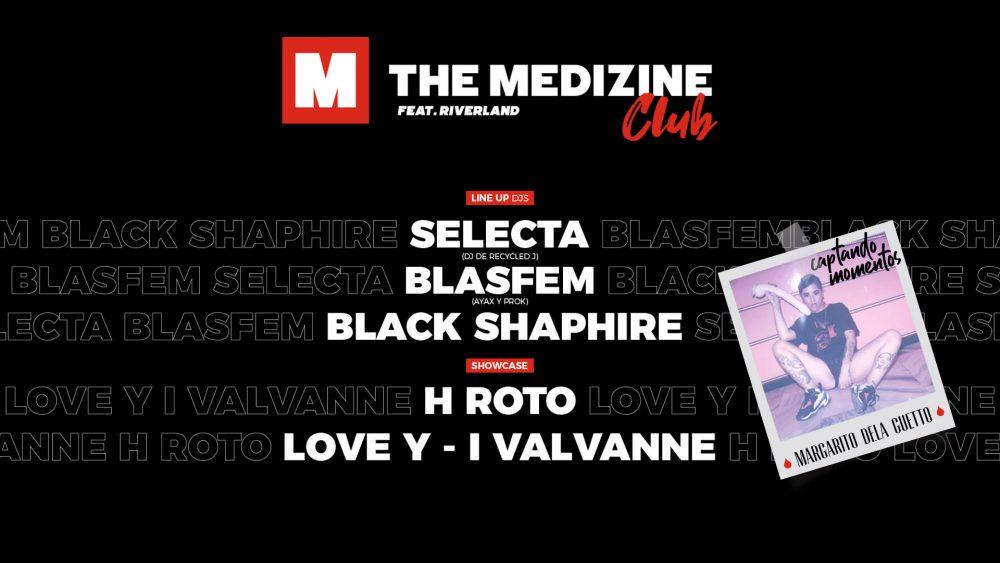 ¡Inauguramos The Medizine Club en Madrid con Selecta, Blasfem, H Roto y Love Y-i el 28 de marzo!