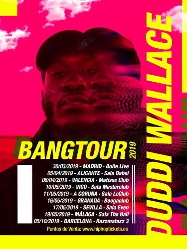tour 375x500 - ¡Sorteamos entradas con Meet&Greet para la nueva gira de Duddi Wallace!