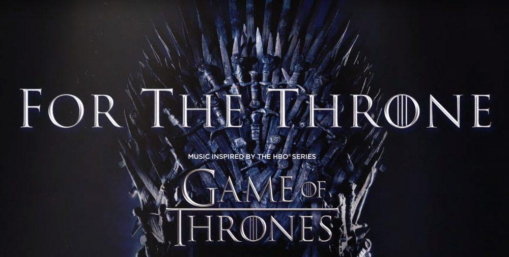 HBO anuncia un álbum lleno de estrellas inspirado en «Juego de Tronos»