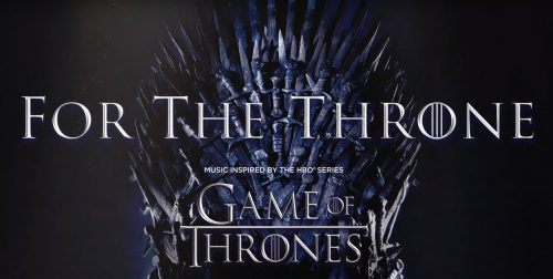 Escucha aquí 'For the Throne', el álbum inspirado en «Juego de Tronos»