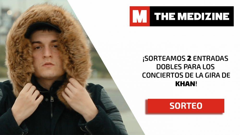 ¡Sorteamos entradas para la gira de Khan por España!