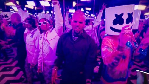 Marshmello vuelve a juntar a Tyga y a Chris Brown para su 'Light It Up'