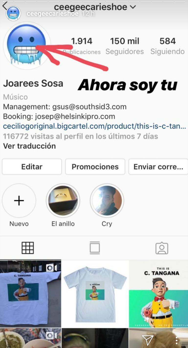 WhatsApp Image 2019 04 25 at 09.52.37 - Cecilio G usa 'No Toy' para robarle a C. Tangana la identidad y el dinero