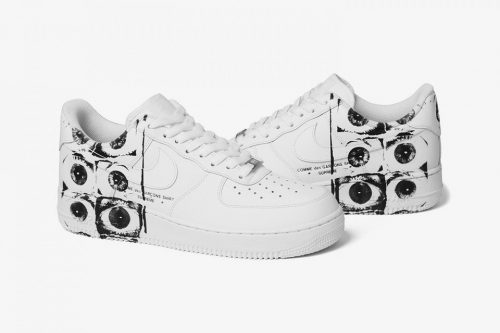 "Nike Air Force 1 x CdG x Sup ""Eyes"""