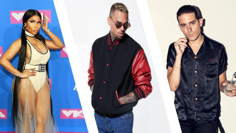 Chris Brown, Nicky Minaj y G-Eazy explotan su sensualidad en 'Wobble Up'