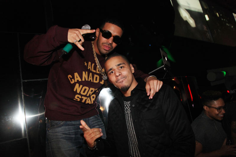 Drake y J. Cole anuncian un tema juntos durante un concierto en Londres