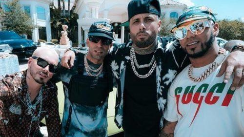 Nicky Jam, J Balvin, Anuel AA y Arcángel firman uno de los hits del año en 'Ven Y Hazlo Tú'