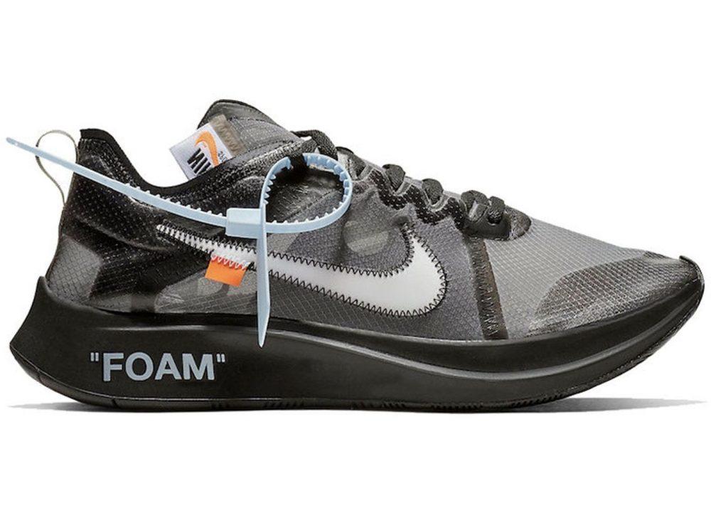 Nike Zoom Fly Off White Black Silver png 1024x1024@2x 1000x714 - [GANADOR] ¡Saca tu lado solidario y gana unas Off-White poniéndote los zapatos de otro!