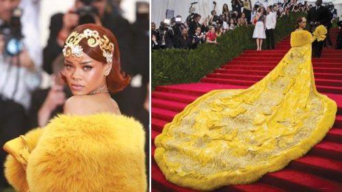 Rihanna 2015 500x281 - Rihanna pasa de ser la mejor vestida a la gran ausente de la Gala MET