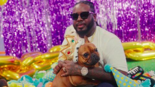 """T-Pain le monta una fiesta de cumpleaños a su perro en """"It's My Dog Birthday"""""""