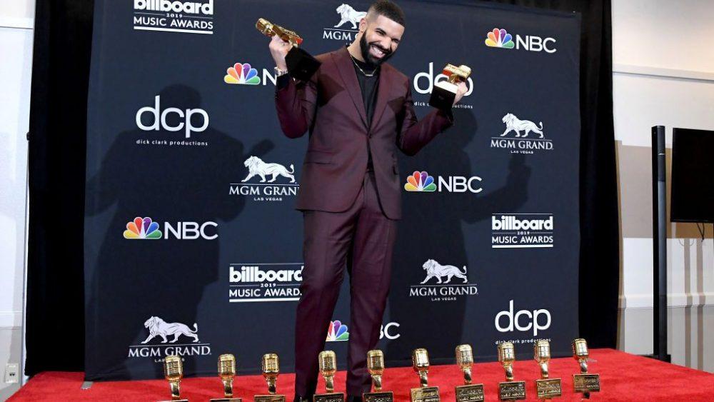 Drake se convierte en el rey de los Billboard Music Awards 2019