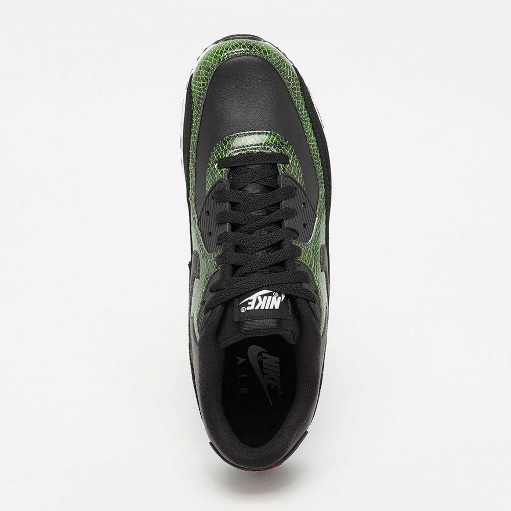 """3 1 1000x1000 - La familia de las Nike Air Max 90 aumenta con las """"Green Python"""""""