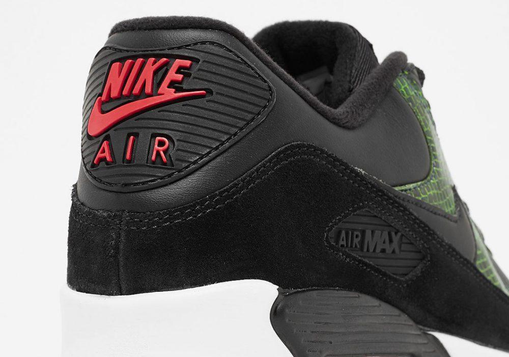 """4 1 1000x702 - La familia de las Nike Air Max 90 aumenta con las """"Green Python"""""""