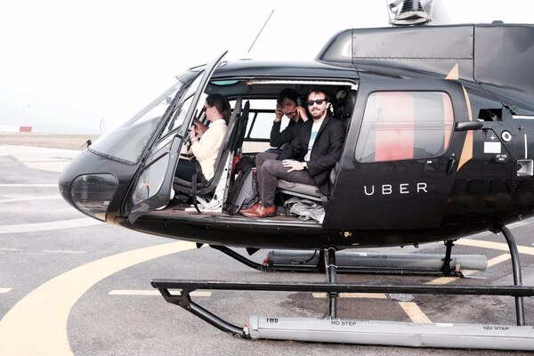 Uber empezará a ofrecer viajes en helicóptero en Nueva York