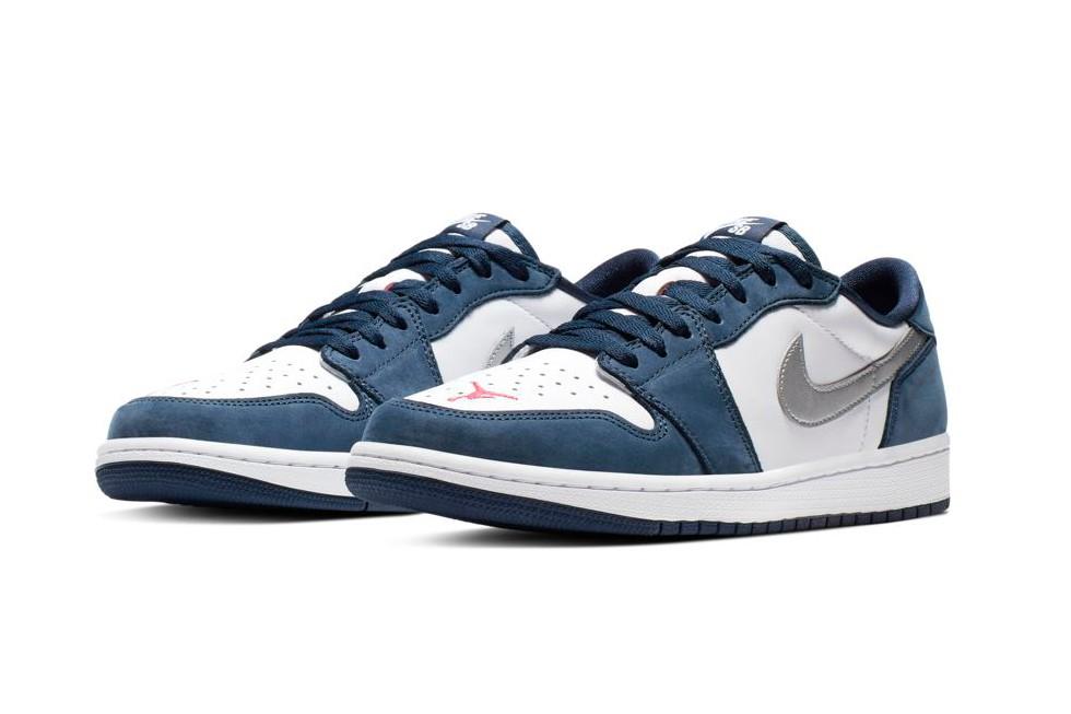 """6 - Descubre todos los detalles de las Nike SB x Air Jordan 1 """"Midnight Navy"""""""