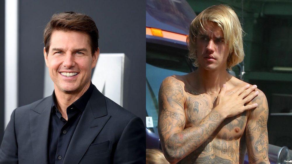 Justin Bieber reta a Tom Cruise a un combate de UFC y McGregor interviene